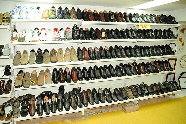 shoes Channel Pannel Display